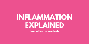 Inflammation Explained - How To Listen To Your Body